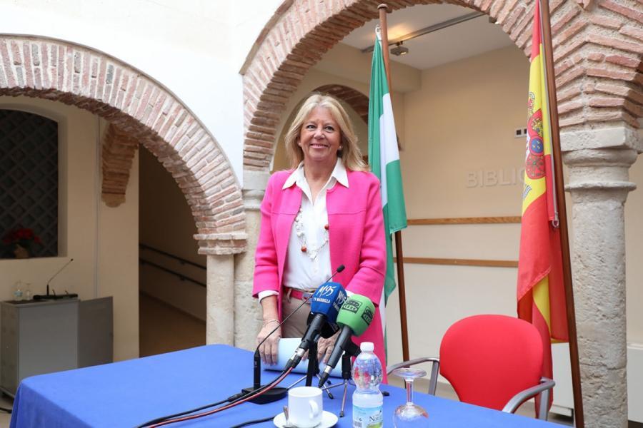 """Ayuntamientos Ayuntamientos La alcaldesa de Marbella destaca que la gestión en 2019 estuvo marcada por """"la seriedad"""" en el ámbito económico y la inversión en barrios y urbanizaciones"""