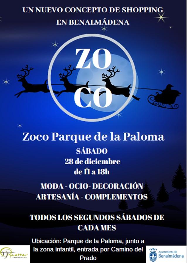 Málaga Málaga El zoco del Parque de la Paloma de Benalmádena celebrará su edición navideña el próximo sábado 28 de diciembre