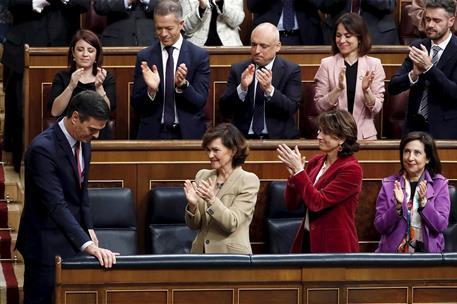 España España Pedro Sánchez, investido presidente del Gobierno