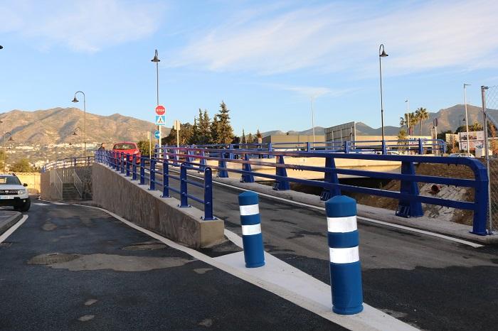 Ayuntamientos Ayuntamientos El puente de El Lagarejo de Mijas abre al tráfico para vehículos y peatones