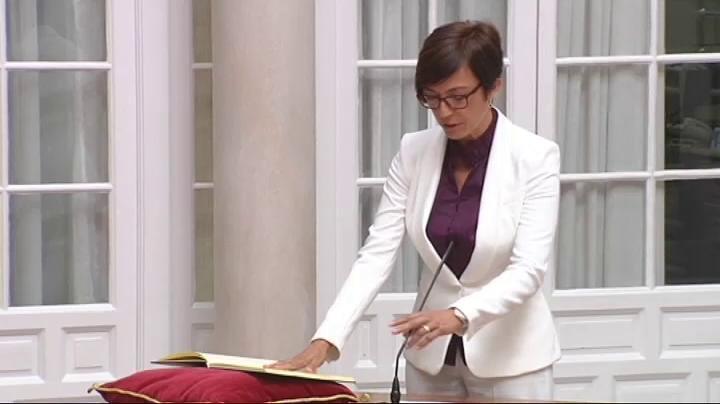 España España La malagueña María Gámez ha sido nombrada nueva directora general de la Guardia Civil