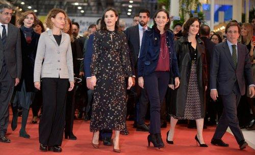 España España La Reina Letizia inaugura Fitur con especial atención al turismo español