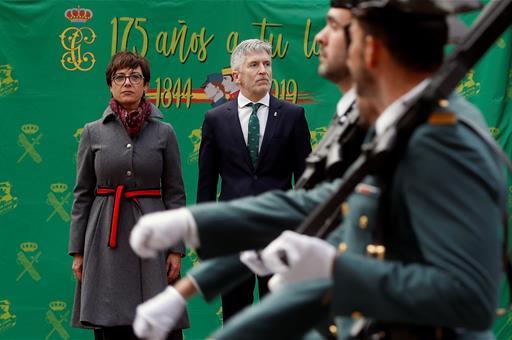 España España Grande-Marlaska preside la toma de posesión de la nueva directora general de la Guardia Civil
