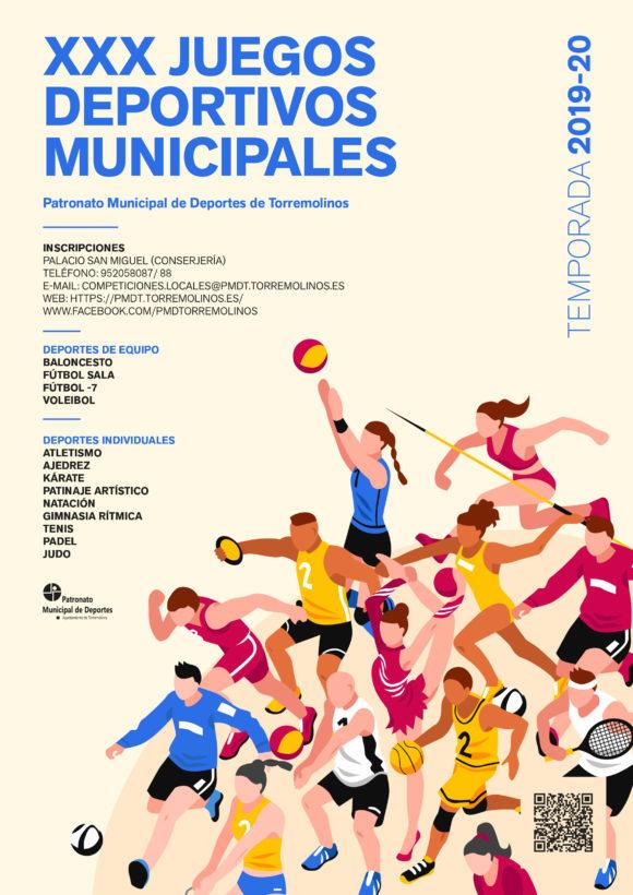 Torremolinos Torremolinos El Patronato de Deportes de Torremolinos abre el plazo de inscripición de los XXX Juegos Deportivos Municipales 2020
