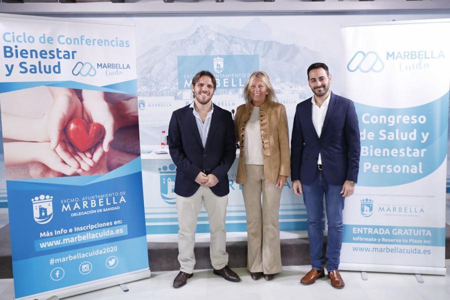 Ayuntamientos Ayuntamientos La ciudad volverá a ser referente del bienestar y la salud con la celebración del ciclo de conferencias y el congreso 'Marbella Cuida'