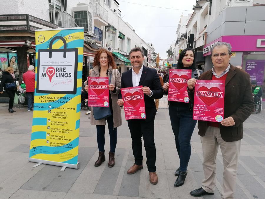 """Torremolinos Torremolinos El CET lanza una campaña para """"enamorar"""" con el comercio local por San Valentín"""