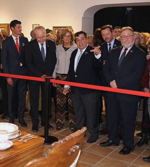 Cultura Cultura Hasta el 11 de abril se puede visitar la gran exposición 'Imperio Argentina, el legado de un mito en la Sala de la Finca El Portón en Alhaurín