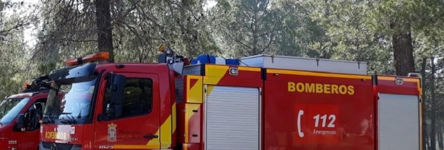 Málaga Málaga Herido un hombre por quemaduras en el incendio de una casa en Colmenar