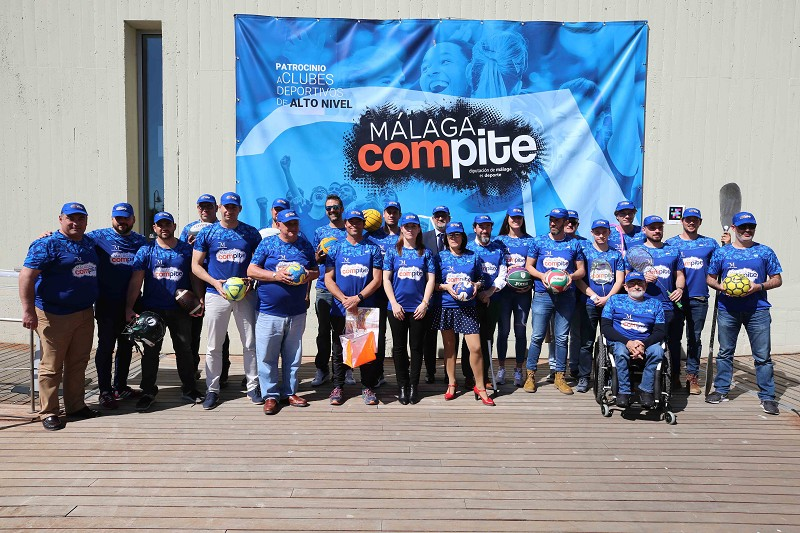 Deportes Deportes Un total de 22 clubes de alto nivel entran a formar parte del Plan Málaga Compite de la Diputación de Málaga