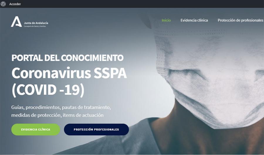 Andalucía Andalucía Andalucía pone en marcha un portal con el conocimiento científico sobre Covid-19