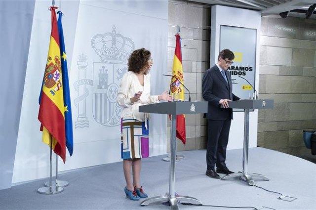 España España El Gobierno solicita hoy al Congreso prorrogar el estado de alarma hasta el 11 de abril