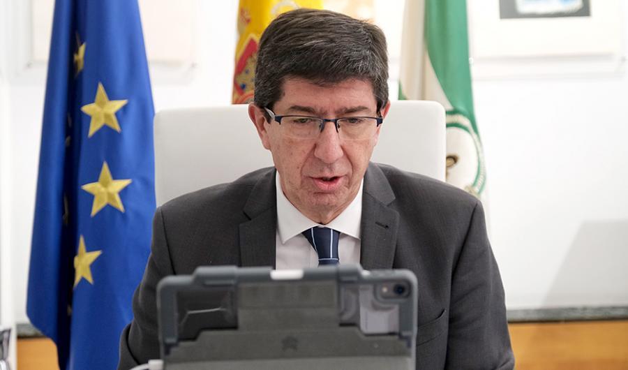 Andalucía Andalucía Turismo de la Junta prepara un plan para recuperar mercados y anuncia que los pagos de justicia gratuita se harán antes del 15 de abril