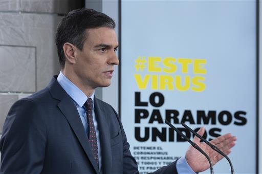 España España Pedro Sánchez y otros ocho líderes europeos defienden una respuesta coordinada frente al coronavirus