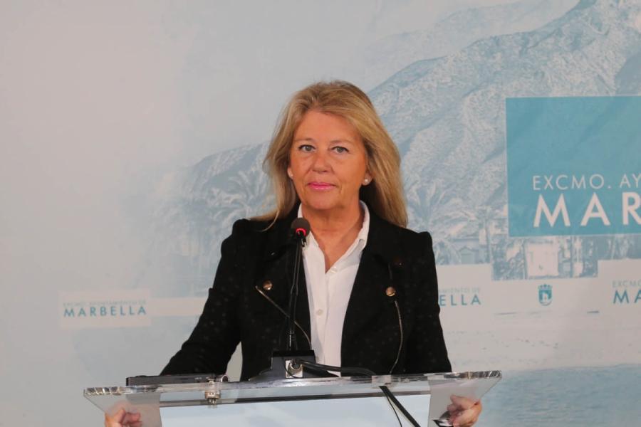 Ayuntamientos Ayuntamientos La alcaldesa de Marbella anuncia un ambicioso plan de reactivación económica con una inversión de 130 millones de euros y 25 medidas para la creación de empleo y el mantenimiento de las pymes