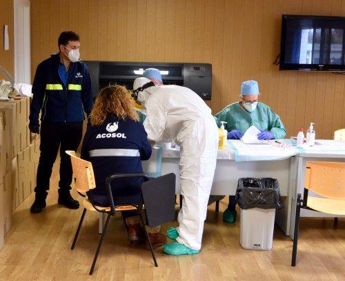 Mancomunidad Mancomunidad Acosol comienza a realizar los test rápidos contra el coronavirus a sus trabajadores