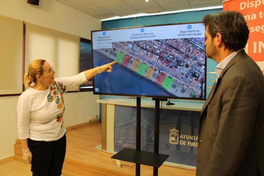 Ayuntamientos Ayuntamientos Fuengirola será el primer ayuntamiento de España en usar inteligencia artificial para controlar el aforo de playas y espacios públicos