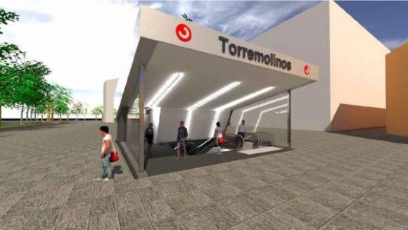 Torremolinos Torremolinos La estación de Torremolinos-La Nogalera solo tiene operativo el andén de la vía 1 desde este lunes