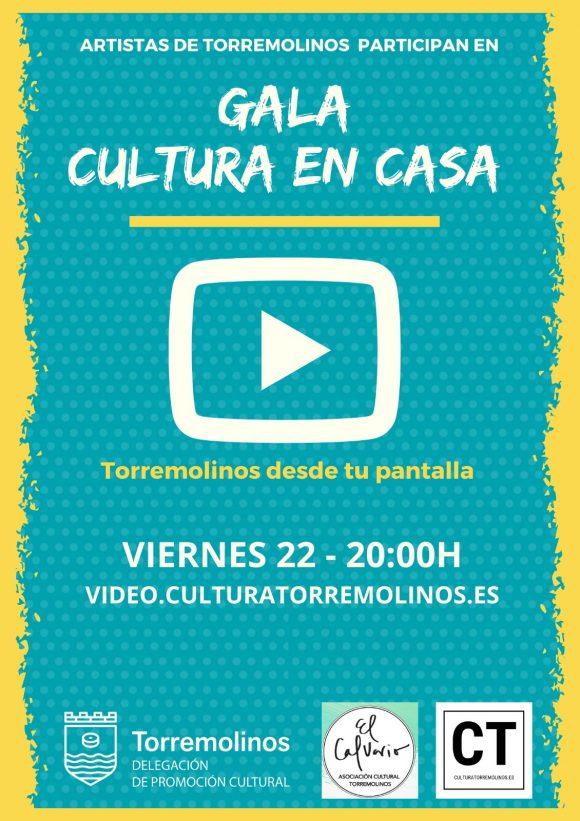 Torremolinos Torremolinos Torremolinos organiza una gala online para poner fin al programa de 'Cultura en Casa' para el confinamiento