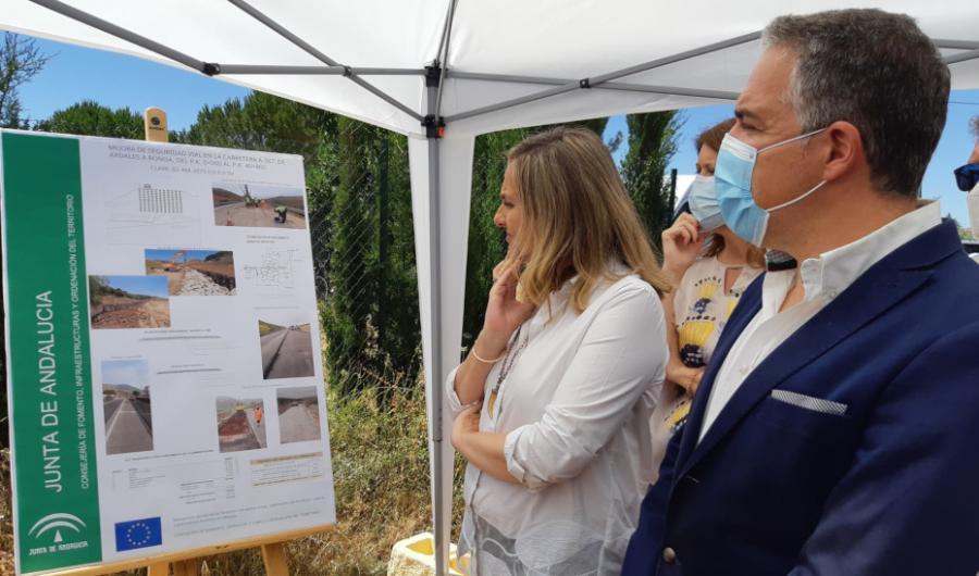 Málaga Málaga La Junta finaliza con ocho meses de adelanto la obra de mejora de la carretera Ronda-Ardales