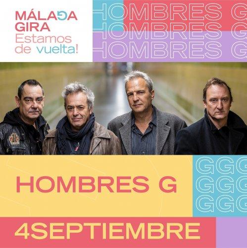 Cultura Cultura Hombres G se suman al ciclo de conciertos Málaga Gira el 4 de septiembre