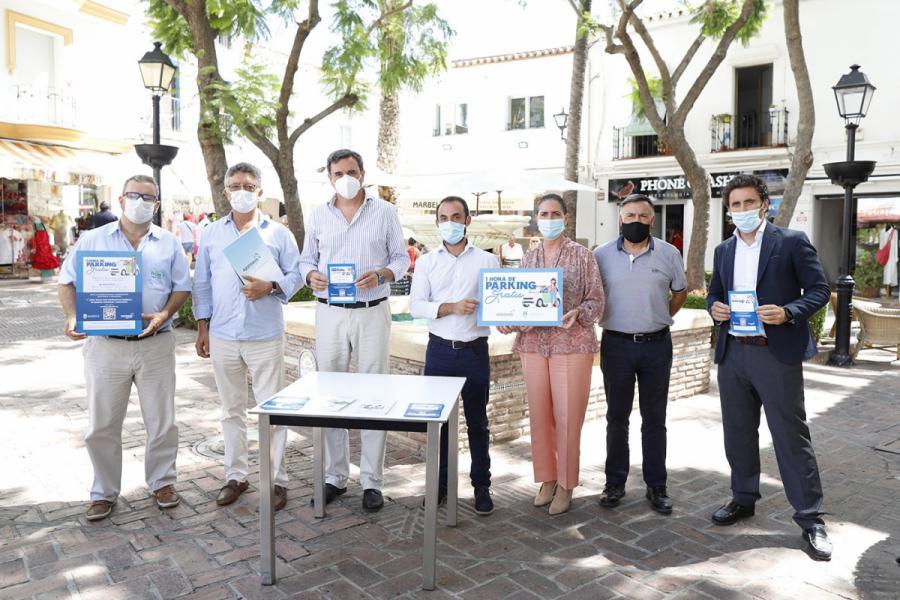 Ayuntamientos Ayuntamientos Comercios del centro de Marbella regalarán tiques de aparcamiento gratuito de una hora a sus clientes
