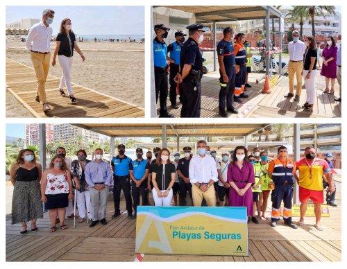 Ayuntamientos Ayuntamientos El Ayuntamiento de Benalmádena y la Junta destacan el esfuerzo por garantizar la seguridad en las playas