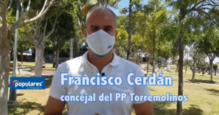 Torremolinos Torremolinos El PP de Torremolinos pide que se mantengan en perfecto estado los parques y jardines del municipio para el uso y disfrute de los vecinos