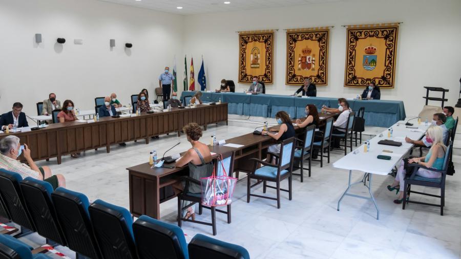 Ayuntamientos Ayuntamientos El Pleno de Estepona aprueba la Cuenta General de 2019 con todas las magnitudes económicas en positivo