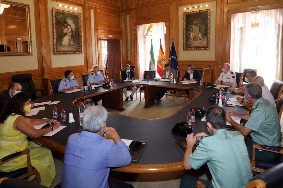 Ayuntamientos Ayuntamientos La Subdelegación del Gobierno da el visto bueno a la instalación de medio centenar de cámaras de la segunda fase del plan de videovigilancia de Marbella