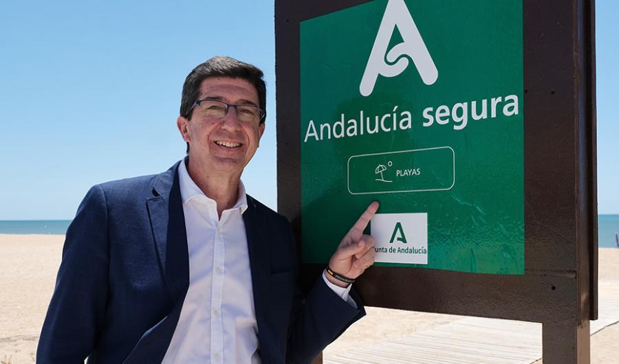 Turismo Turismo Casi el 60% de la costa andaluza cuenta con el sello de garantía frente al Covid-19 'Andalucía segura'