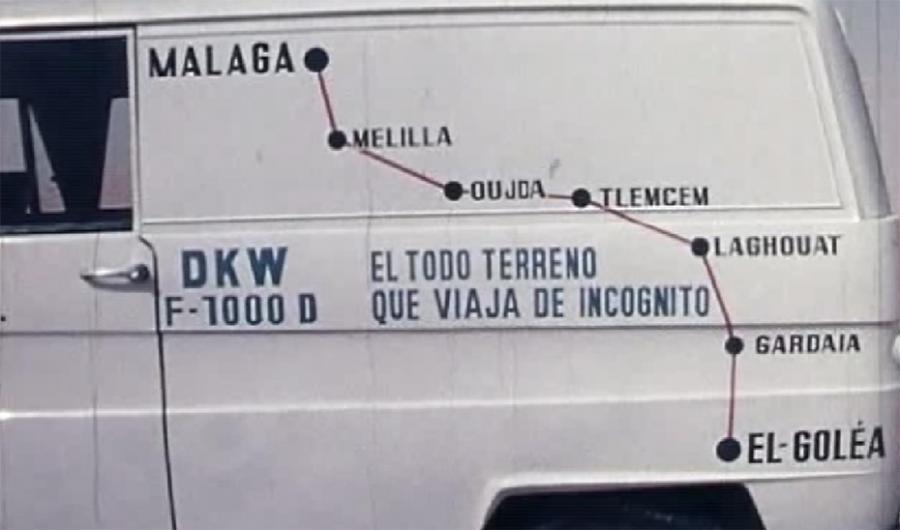 Málaga Málaga La travesía de la 'perla de Málaga' que floreció en el desierto argelino
