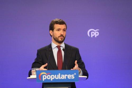 """España España Casado reprocha al Gobierno su """"incompetencia"""" en la 'vuelta al cole': """"Ninguna familia sabe qué va a ser de sus hijos"""