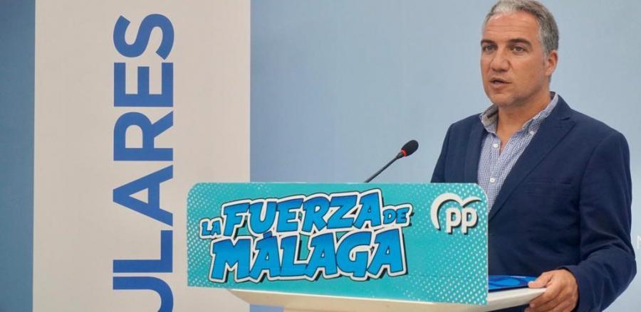"""Málaga Málaga Bendodo: """"El Gobierno ha estado tumbado a la bartola y ahora usa a las comunidades para escabullirse"""""""