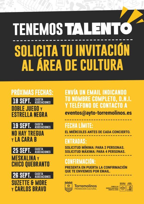 Torremolinos Torremolinos Cultura traslada la música en directo al recinto ferial