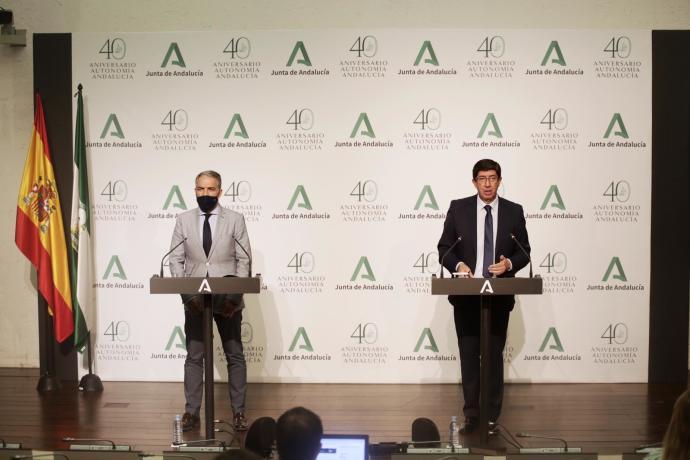 Andalucía Andalucía La Junta y el Gobierno firman un acuerdo sobre el Decreto Ley de simplificación normativa