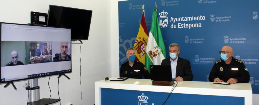 Ayuntamientos Ayuntamientos El Ayuntamiento de Estepona renueva su adhesión al programa Viogén contra la violencia de género