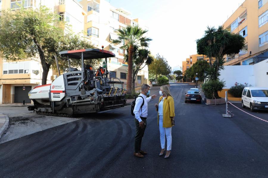 Ayuntamientos Ayuntamientos El Ayuntamiento de Marbella renueva con el Plan de Asfalto el firme de más de 128.000 metros cuadrados de 70 viales de todo el término municipal