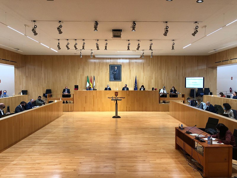 Málaga Málaga La Diputación aprueba una concertación histórica al elevar los fondos incondicionados a los ayuntamientos hasta los 10,4 millones