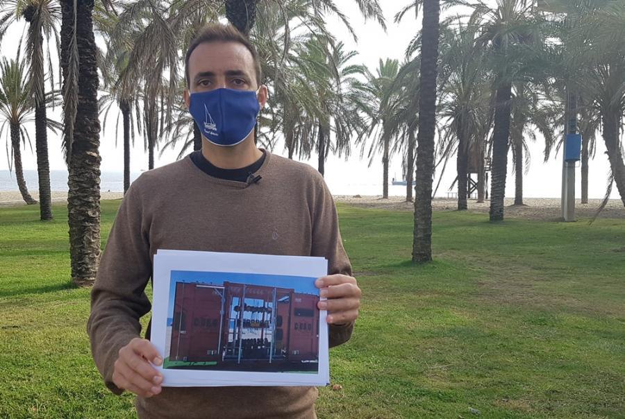 Torremolinos Torremolinos El PP  propondrá al pleno la instalación de containers en el litoral de Torremolinos para aumentar la oferta de actividades deportivas al aire libre