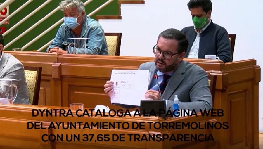 Torremolinos Torremolinos Ruego del PP en el pleno de octubre solicitando mejoras en el Portal de Transparencia del Ayuntamiento de Torremolinos