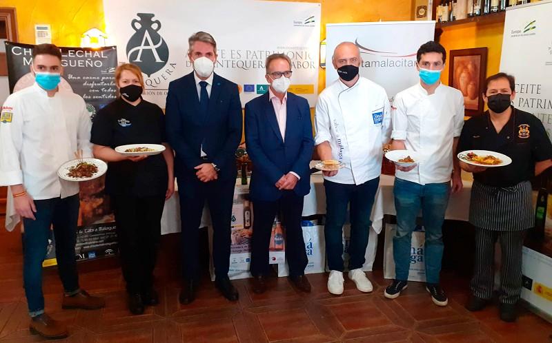 Turismo Turismo El Mesón Astorga, ganador del IV Concurso Provincial de Cocina de Chivo Lechal Malagueño