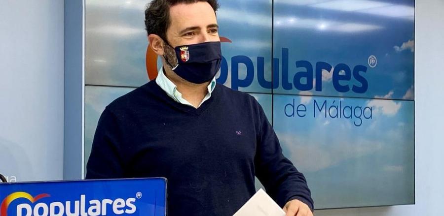 Málaga Málaga El PP de Málaga pide al Gobierno central un trato justo en el reparto de las vacunas