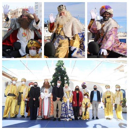 Ayuntamientos Ayuntamientos Los Reyes Magos no faltaron a su cita con los niños de Benalmádena