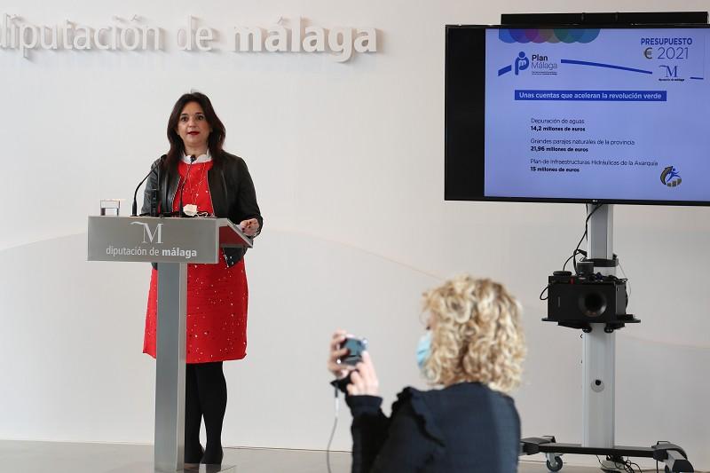 Málaga Málaga El presupuesto de la Diputación para este año acelera la Revolución Verde en la provincia