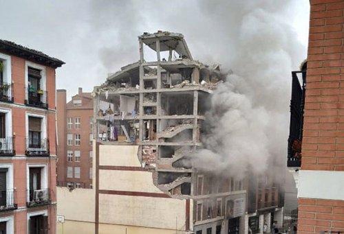 España España Una explosión en una residencia sacerdotal en pleno centro de Madrid deja tres muertos y una decena de heridos