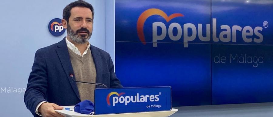"""Málaga Málaga PP: """"El nuevo Gobierno andaluz ha demostrado que el problema no era Andalucía, sino el PSOE"""""""