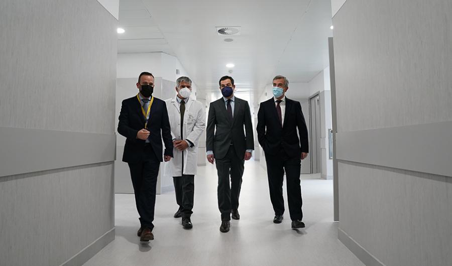 Salud Salud Moreno inaugura el Hospital de Estepona y anuncia el desbloqueo de la ampliación del Costa del Sol