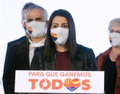 España España Arrimadas descarta dimitir o destituir a otros dirigentes de Ciudadanos tras la debacle electoral