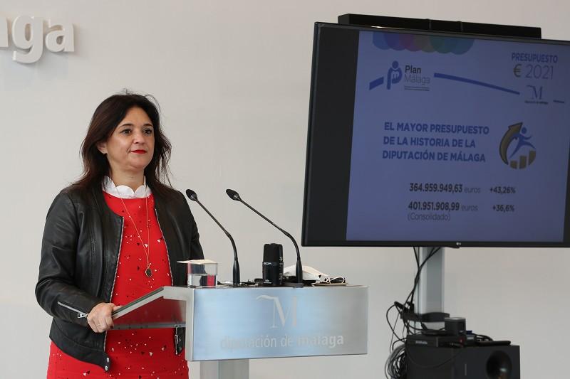 Málaga Málaga El 82% de las contrataciones externas que hizo la Diputación de Málaga en 2020 fueron a pymes