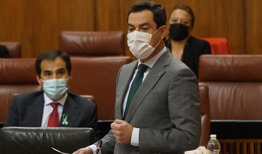 Andalucía Andalucía Moreno valora el acuerdo con los agentes sociales para poner en marcha nuevas ayudas dirigidas a los sectores más afectados por la pandemia